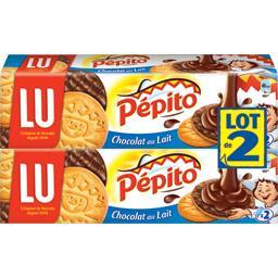 Pépito - Biscuits au chocolat au lait