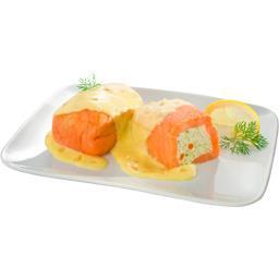 Paupiette de saumon au beurre et à l'oseille