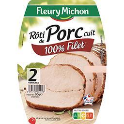 Rôti de porc cuit de qualité supérieure