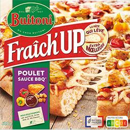 Buitoni Buitoni Fraîch'Up - Pizza poulet sauce barbecue la boite de 600 g
