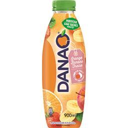 Danao Danao Boisson orange banane fraise sans sucres ajoutés la bouteille de 900 ml