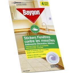 Stickers fenêtres anti-mouches 2 en 1 sans parfum
