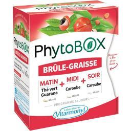 Laboratoire Vitarmonyl Complément alimentaire PhytoBox Brûle-graisse la boite de 40 gélules - 13,7 g