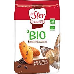 Madeleine coquilles aux pépites de chocolat BIO