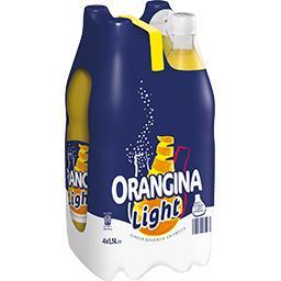 Orangina Orangina Soda orange Light les 4 bouteilles de 1,5 l