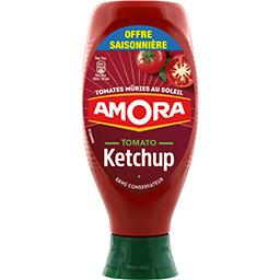 Amora Amora Tomato ketchup, tomates mûries en plein champs le flacon de 850 gr