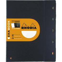 Cahier Organizer Exabook  rechargeable 250x305 perforé 5x5