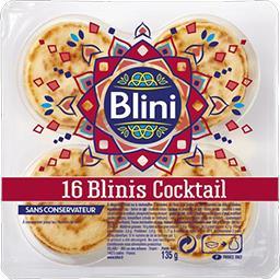 Blini Blini Blinis Cocktail la barquette de 16 - 135 g
