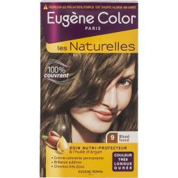 Eugène Color Crème colorante permanente blons foncé N°9 les 2 boites de 115ml