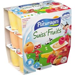 Fromages frais Suiss'Fruits