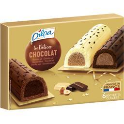 Pilpa Bûchettes mini Délices assortiment chocolat