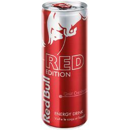 Boisson énergisante The Red Edition goût cranberry
