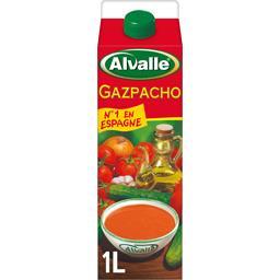 Alvalle Alvalle Gazpacho soupe froide Méditerranéenne de légumes frais la brique de 1 l