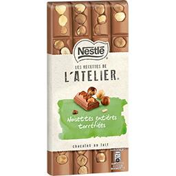 Les Recettes de L'Atelier - Chocolat au lait noisett...