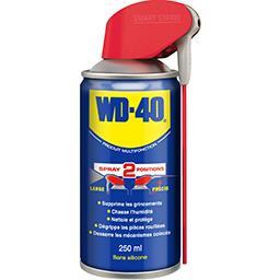 WD-40 WD-40 Produit multifonction, 5 fonctions Le spray double position de 250ml