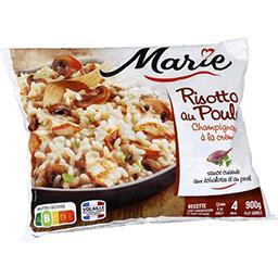 Marie Marie Risotto au poulet champignons à la crème le sachet de 900 g