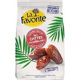 Sun La Favorite Les dattes moelleuses sans sucres ajouté le sachet de 250g