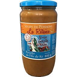 La Rétaise La rétaise Soupe de poissons recette de l'île de Ré le bocal de 800 g