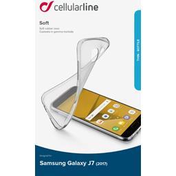 Coque silicone souple translucide Samsung Galaxy J7 2017