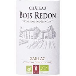 Gaillac Château Bois Redon vin Rouge 2015