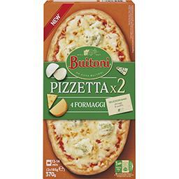 Buitoni Buitoni Pizetta - Pizza 4 fromages les 2 pizzas - 370g