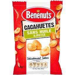 Cacahuètes sans huile ajoutée délicatement salées