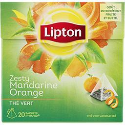 Thé vert aromatisé mandarine orange