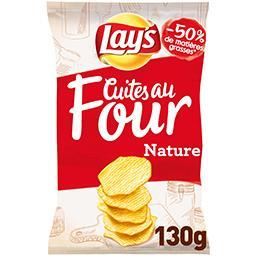 Lay's Lay's Les Cuites au Four - Chips nature le paquet de 130 g