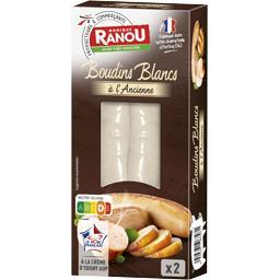 Boudins blancs à l'ancienne à la crème d'Isigny
