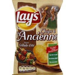 Chips à l'ancienne saveur grillade d'été