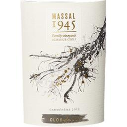 Chili Massal 1945 by Clos de Luz Carmenere vin Rouge 2016
