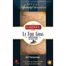 Le Foie gras de canard entier mi-cuit poivre IGP Sud...
