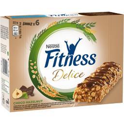Fitness - Barre de céréales Délice chocolat au lait goût noisette