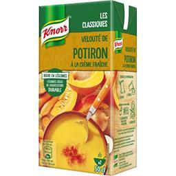 Knorr Knorr Soupe Velouté de potiron à la crème fraîche la brique de 50 cl