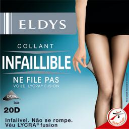 Collant perfect infaillible naturel voile lycra 20D - T5