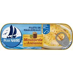 Filets de maquereaux moutarde à l'ancienne