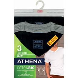 Tee-shirts col V coton BIO T L