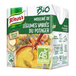 Knorr Knorr Mouliné de légumes variés du potager BIO la brique de 30 cl