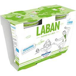 Yaourt nature à boire Laban
