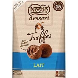 Nestlé Chocolat Dessert - Truffes cœur fondant chocolat au lait