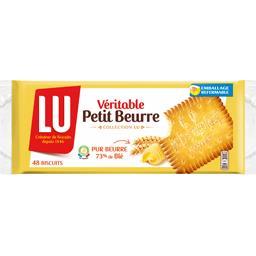 LU LU Petit Beurre - Biscuits Véritable le paquet de 48 biscuits - 400 g