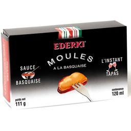 Moules sauce Basquaise - L'instant Tapas