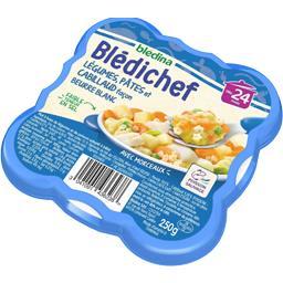 Blédina Blédina  - Légumes, pâtes et cabillaud façon beurre... l'assiette de 250 g