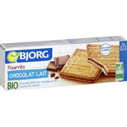 Biscuits fourrés chocolat lait BIO