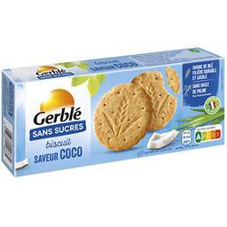 Gerblé Gerblé Biscuits saveur coco sans sucres le paquet de 12 - 132 g