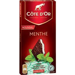 Chocolat noir menthe