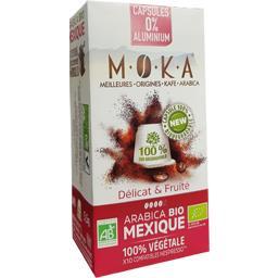 Capsules de café arabica Mexique BIO, délicat & fruité