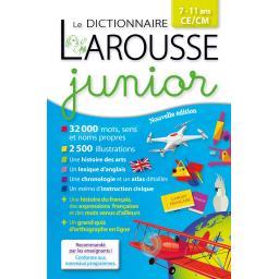 Dictionnaire Larousse junior, 7/11 ans, CE/CM