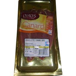 Aiguillette de canard gras
