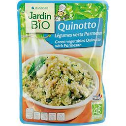 Jardin Bio Jardin bio Quinotto légumes verts parmesan BIO le paquet de 220 g